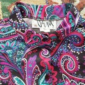 Vintage 70's Vera Neumann Top